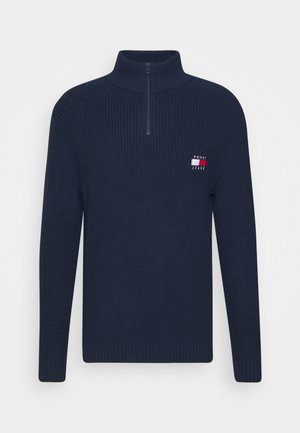 BADGE HALFZIP - Pullover - twilight navy