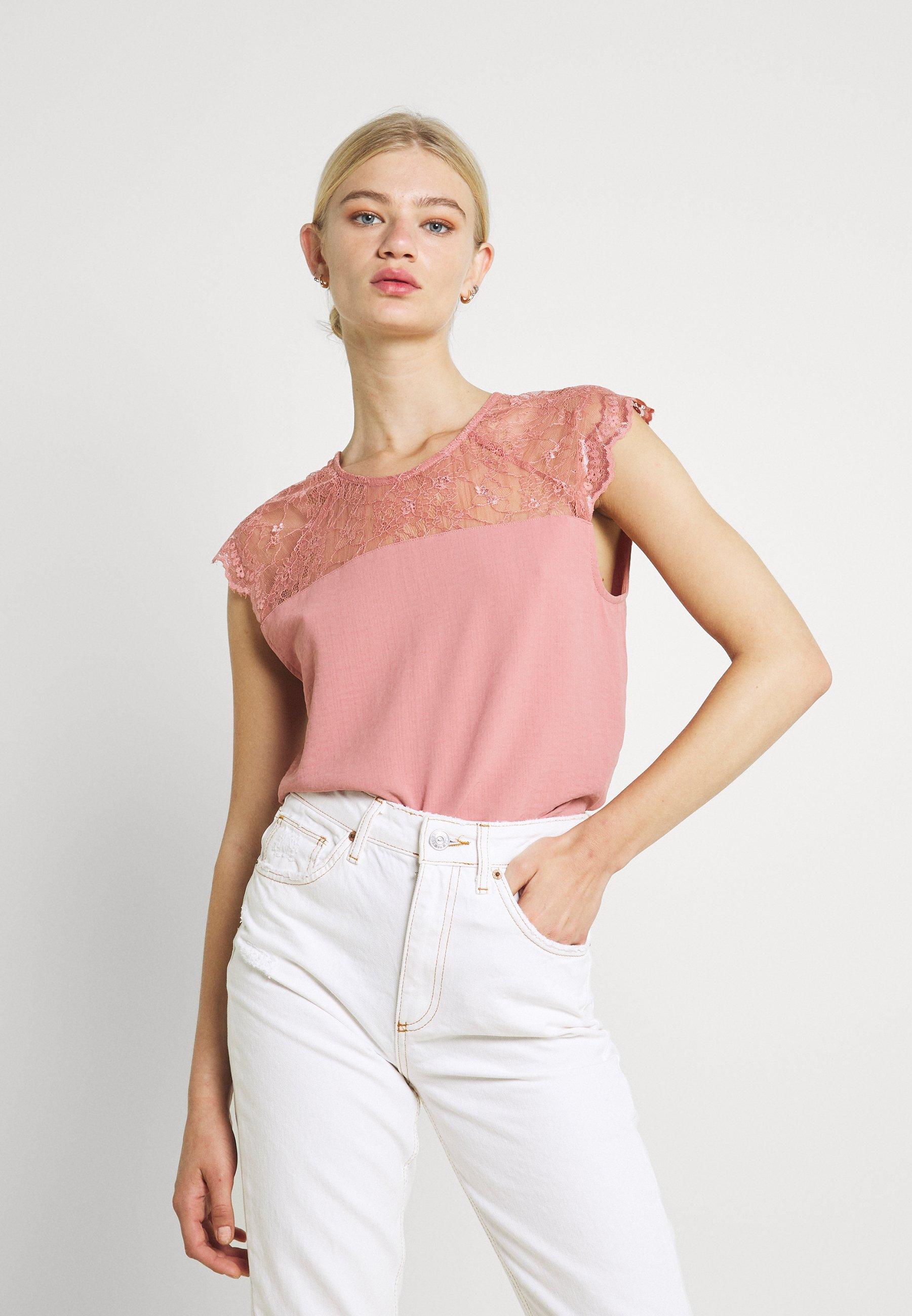 Femme VILOVIE CAPSLEEVE - T-shirt imprimé