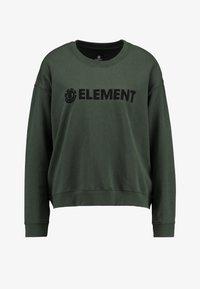 Element - LOGO CREW - Sweatshirt - olive drab - 3