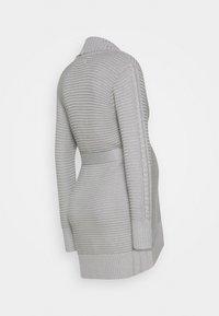 Anna Field MAMA - Chaqueta de punto - grey melange - 1