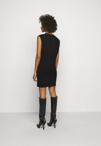 DESIGNERS REMIX - MANDY MUSCLE DRESS - Sukienka etui - black - 2