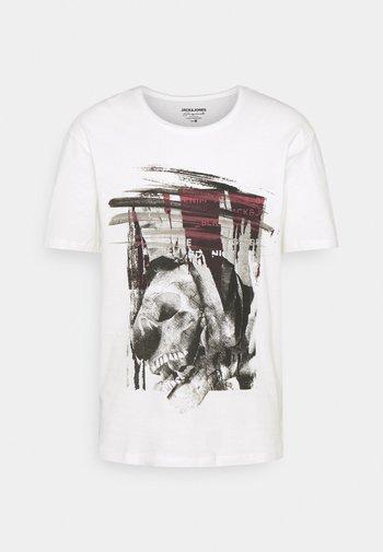 JORTONE TEE CREW NECK - T-shirt con stampa - cloud dancer