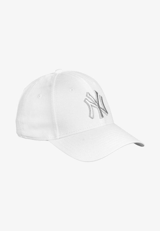 METALLIC LOGO 9FORTY NEW YORK YANKEES - Cap - white