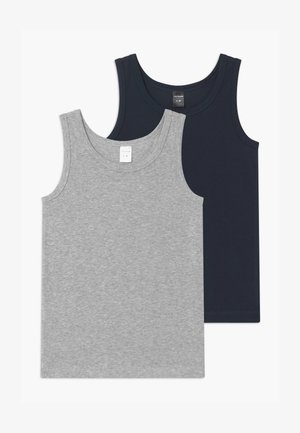 TEENS 2 PACK  - Undershirt - dark blue/grey