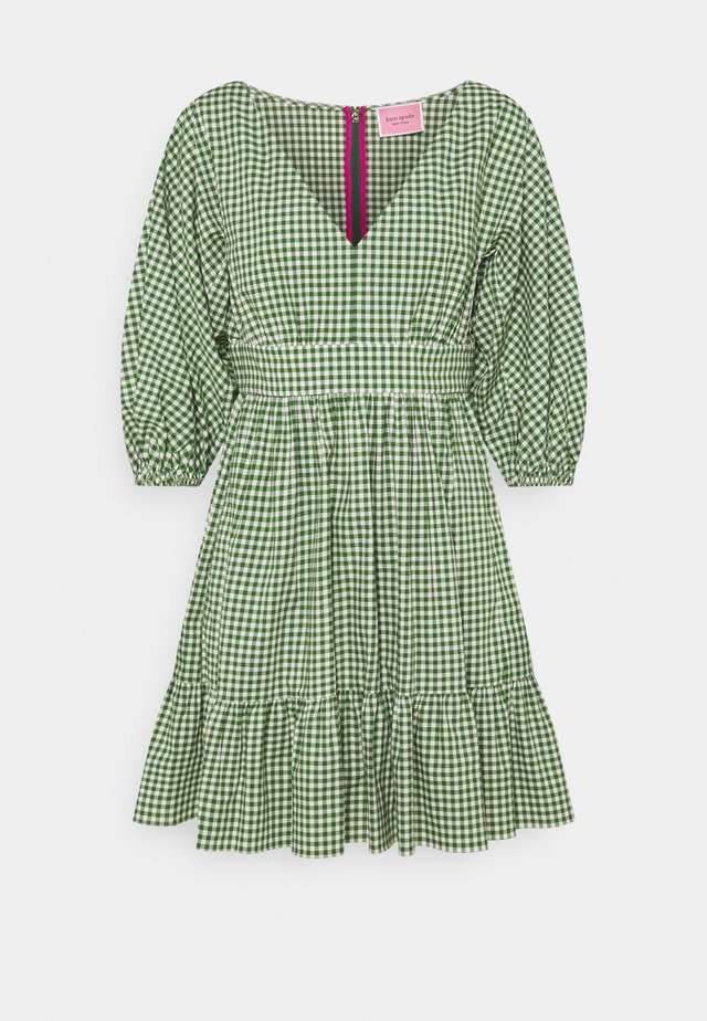 MINI GINGHAM BODEGA DRESS - Denní šaty - courtyard