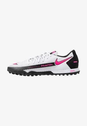PHANTOM GT ACADEMY TF - Astro turf trainers - white/pink blast/black