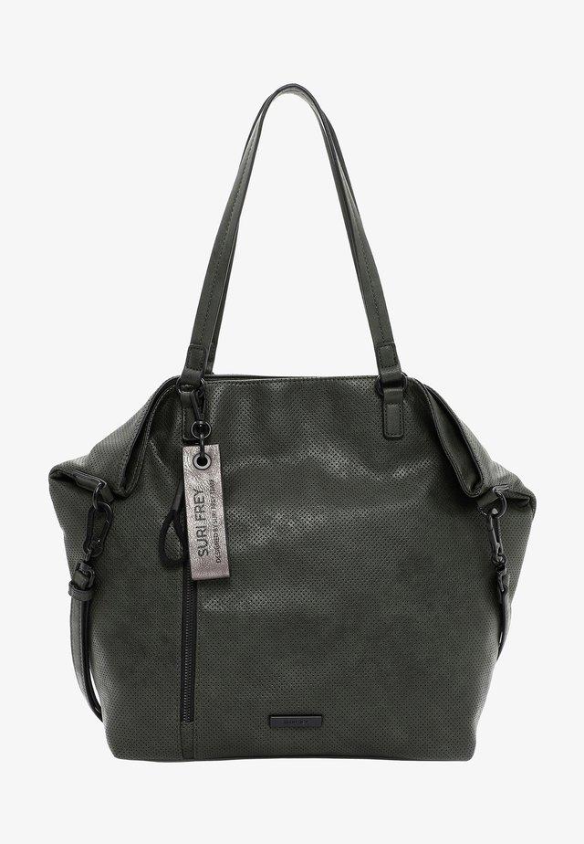 FANY - Tote bag - oliv
