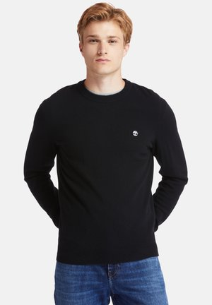 COHAS BROOK MERINO CREW - Sweatshirt - black