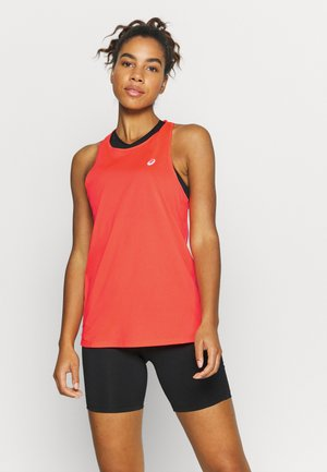 RACE SLEEVELESS - Funktionstrøjer - flash coral