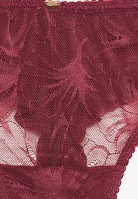 Women Secret - ALLOVER - Thong - dark pink - 2