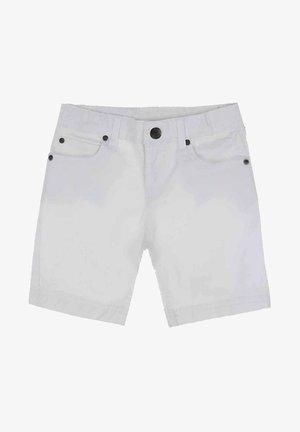 Denim shorts - blanco