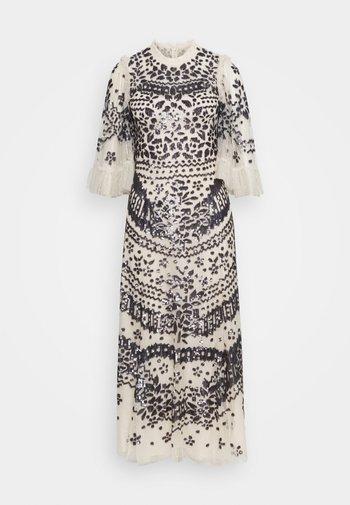 ANAÏS SEQUIN BALLERINA DRESS - Společenské šaty - champagne/graphite
