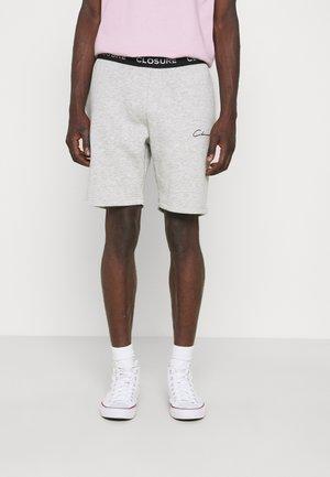 BRANDED WAISTBAND  - Shorts - light marl