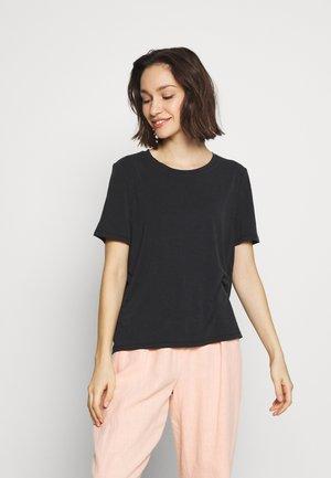 JANNIE  - Basic T-shirt - black
