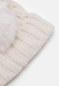 GAP - CABLE HAT - Muts - soft ivory - 2
