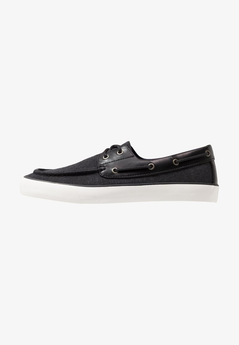 Call it Spring - GREENLING - Boat shoes - black