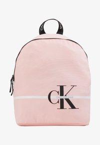 Calvin Klein Jeans - MONOGRAM STRIPE BACKPACK - Batoh - pink - 1