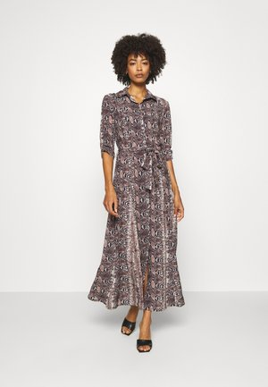 Maxi dress - grey/brown