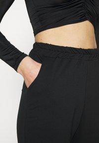 Missguided - BASIC - Spodnie treningowe - black - 4