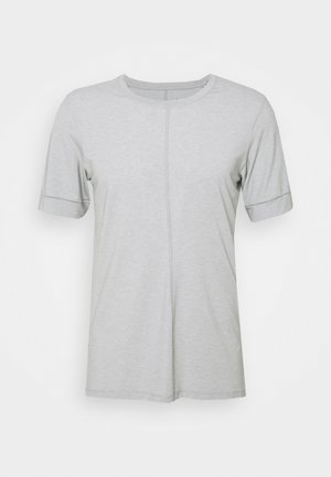 T-shirt basic - smoke grey/white/black