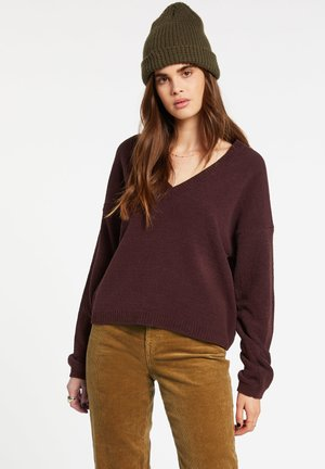 STITUATIONS - Sweatshirt - black_plum