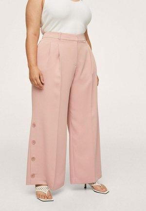 PINKY - Trousers - pastellrosa