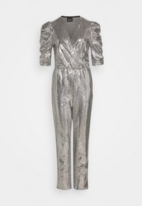 Gina Tricot - LOIS EXCLUSIVE - Jumpsuit - silver - 4