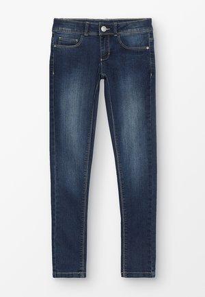 PANTS - Slim fit jeans - dark indigo denim