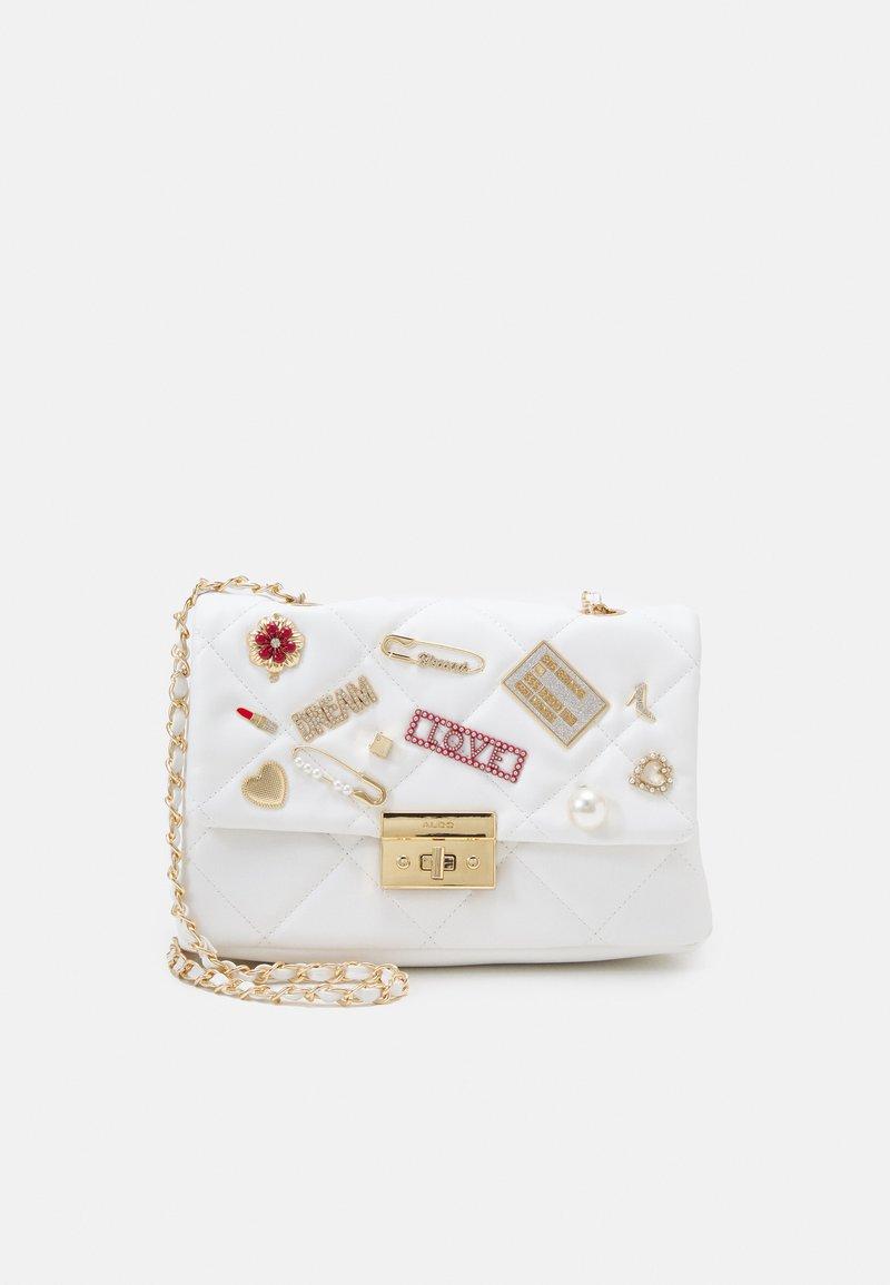 ALDO - GLIEVIA - Across body bag - bright white/gold-coloured