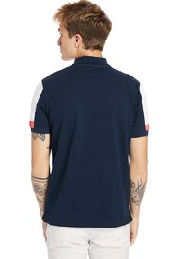 Timberland - MILLERS RIVER  - Polo shirt - dark sapphirewhite - 2