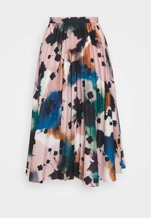 FLORAL PLEAT SKIRT - Jupe trapèze - multicolor