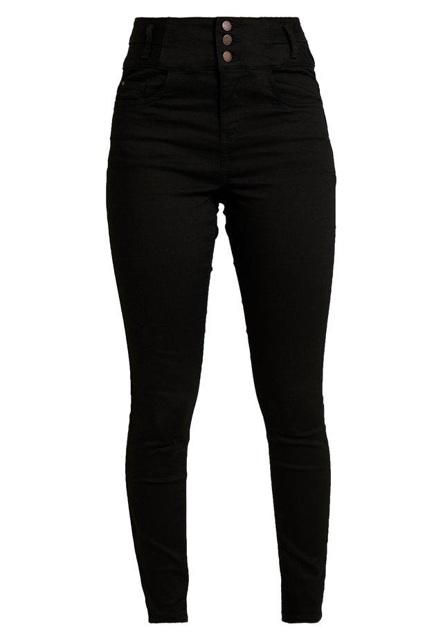 SUPER - Skinny džíny - black