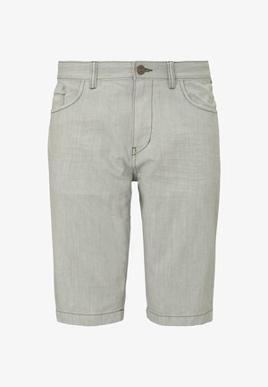 Jeansshorts - pale bark green