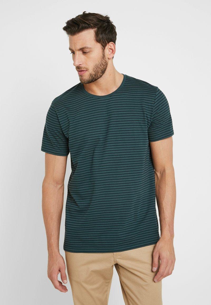 edc by Esprit - CORE - Print T-shirt - teal blue