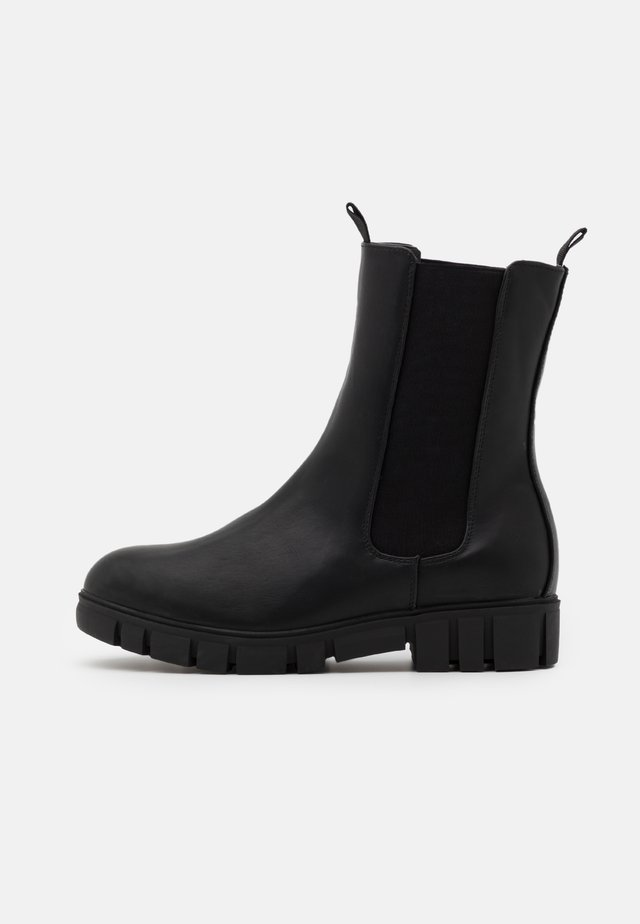 ZADIE MIDI GUSSET BOOT - Støvletter - black