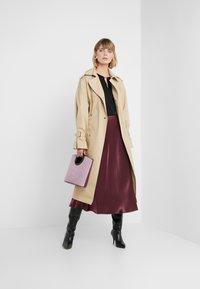 HUGO - RACELA - A-line skirt - medium red - 1