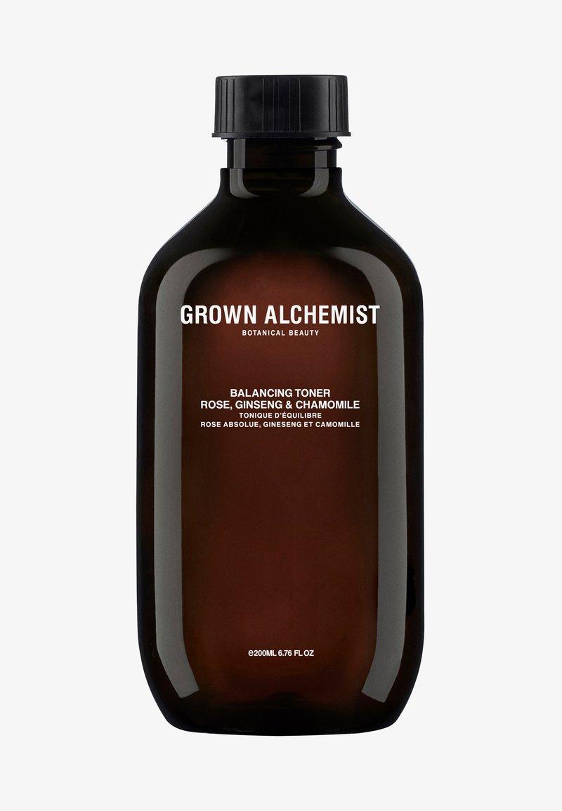 Grown Alchemist - BALANCING TONER ROSE, GINSENG & CHAMOMILE - Tonic - -