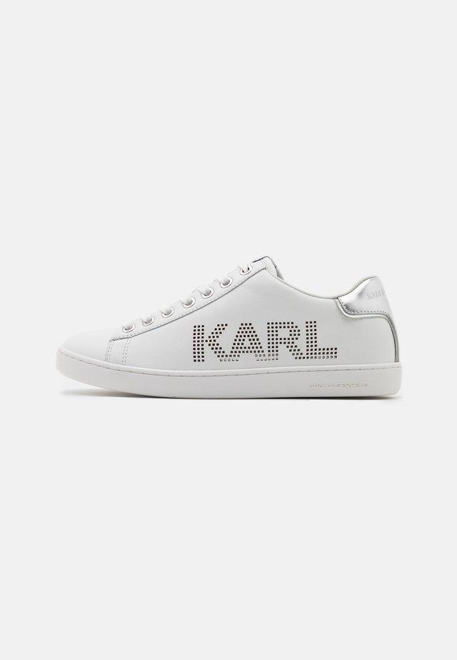 KUPSOLE PUNKT LOGO  - Sneakers basse - white/silver