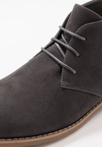 Pier One - Lace-ups - grey - 5