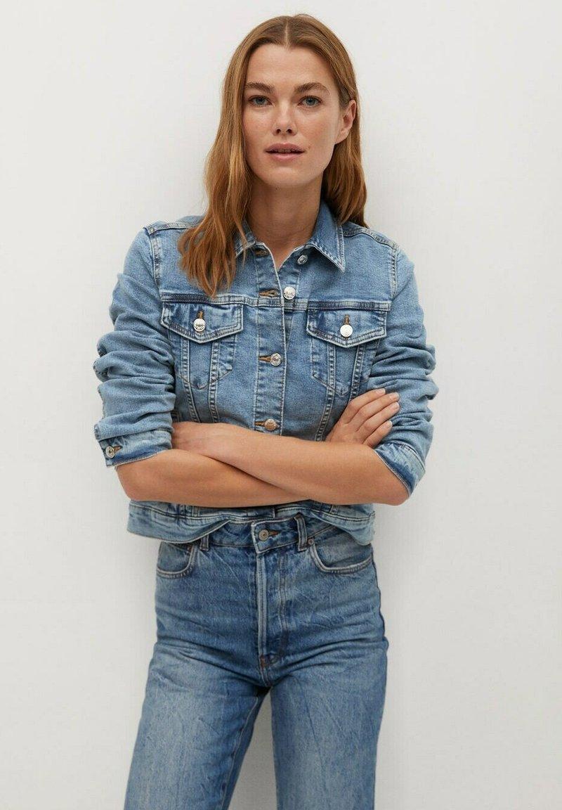 Mango - Veste en jean - blue