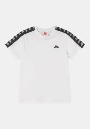 JANNO UNISEX - Print T-shirt - bright white