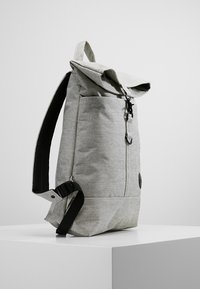 Enter - CITY FOLD TOP BACKPACK - Batoh - melange black - 3