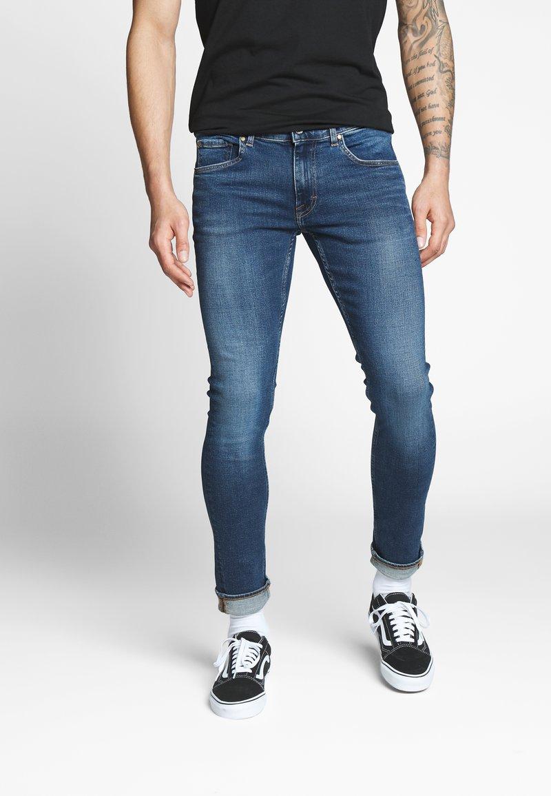 Tiger of Sweden Jeans - Slim fit jeans - royal blue