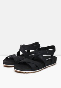 Timberland - MALIBU WAVES ANKLE - Sandały - black - 3