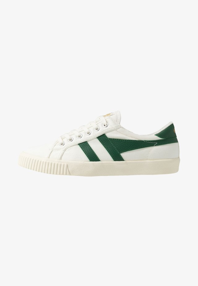 TENNIS MARK COX VEGAN - Baskets basses - offwhite/dark green