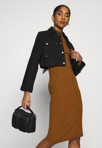 ONLY - ONLJOANNA DRESS  - Shift dress - rubber - 5