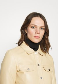 Deadwood - FRANKIE - Leather jacket - beige - 3