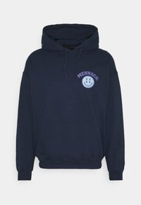 Mennace - UNISEX TWISTED HOODIE - Hoodie - blue - 0