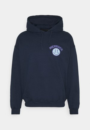 UNISEX TWISTED HOODIE - Sweat à capuche - blue