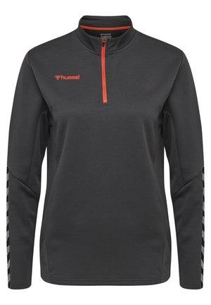 HMLAUTHENTIC  - Sweater - asphalt